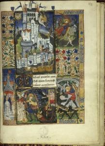 scène principale : le Mont Saint-Michel