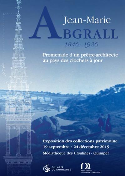 """Affiche de l'exposition """"Jean-Marie Abgrall"""", 19/09-24/12/2015"""