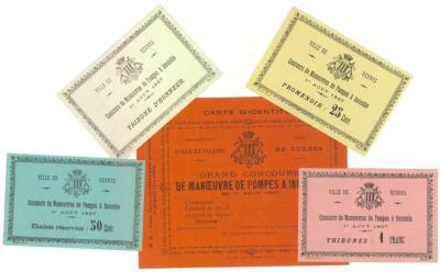 Sélection de bons. Photographie Archives municipales de Rennes