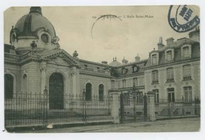 Carte postale de l'Asile Saint-Méen. Cote 6Fi Rennes 250-94