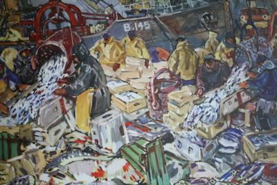 """Extrait de """"Pêcheurs des Quatre mers"""", Roger Vercel et Mathurin Méheut, 1957"""