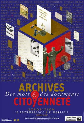Exposition AD22 - Une bibliothèque aux Archives. D.R. Patrick Pichouron