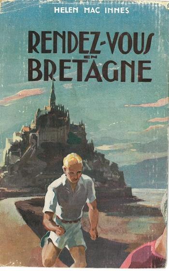 """Couverture de """"Rendez-vous en Bretagne"""", Presses de la Cité, 1956. D.R."""