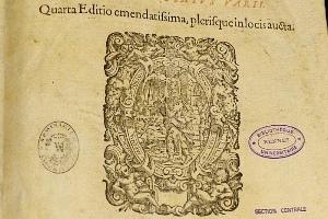 D'Argentré B. Commentarii in consuetudines ducatus Britanniae (1628) © SCD Rennes 1