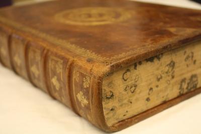 Histoire Romaine, 1621. Photo : Médiathèque de Saint-Malo.