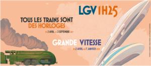 Projet LGV 1h25. Les Champs libres Rennes 2017.