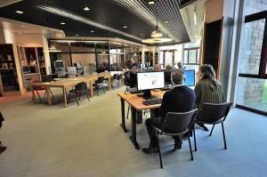 Salle de lecture du site de Quimper