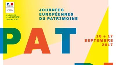 Visuel des Journées Européennes du Patrimoine -2017