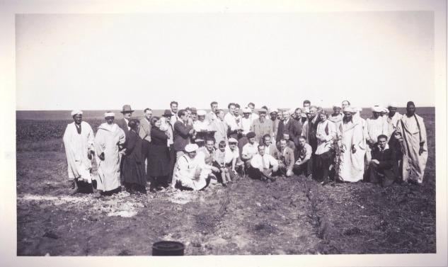 Voyage d'études ENAR - Maroc 1931