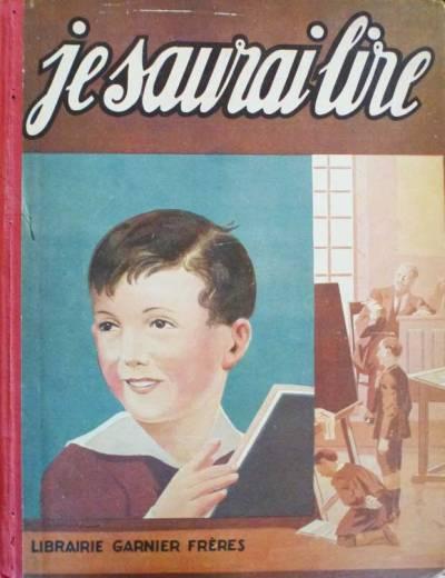 Couverture de Je saurai lire, 1933 (côte RES J B355)