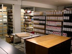 Salle de tri. © Archives de Rennes