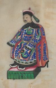[Album de costumes chinois collés et peints]. HP 33978
