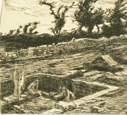 Les lavandières de la nuit. Emile Souvestre. R4112. Bibliothèque de Rennes Métropole