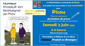 Le dessin de presse : exposition et rencontre à la BM de Dinan