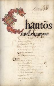 BM Dinan_Recueil de chants de Noöl, 1662 (folio 63)