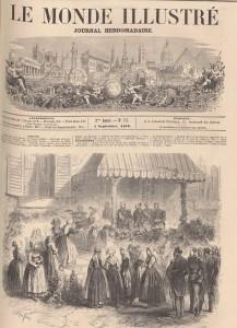 Le monde illustré du 4 septembre 1858