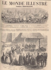 Le monde illustré du 4 septembre 1858