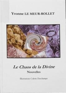 Le Chaos de la divine : nouvelles. (page de couverture)